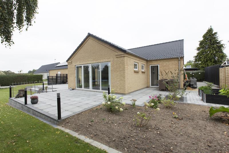 1. planshus i Harlev fra byggetilladelsen.