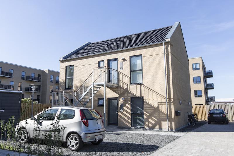 Nybyg 4 Lejligheder Odense C på 105 m2