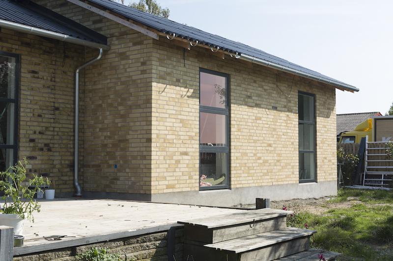 Tilbygning i Herlufmagle af Byggetilladelsen