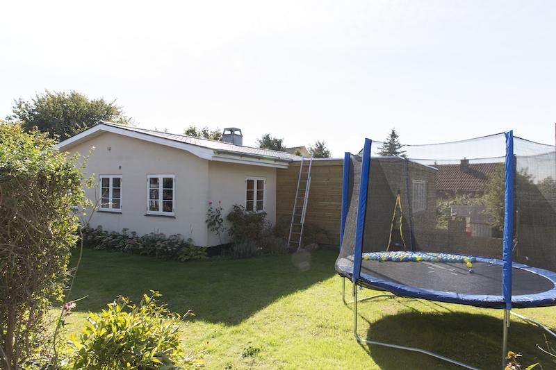 Byggetilladelsen har lavet Tilbygning i Slangerup