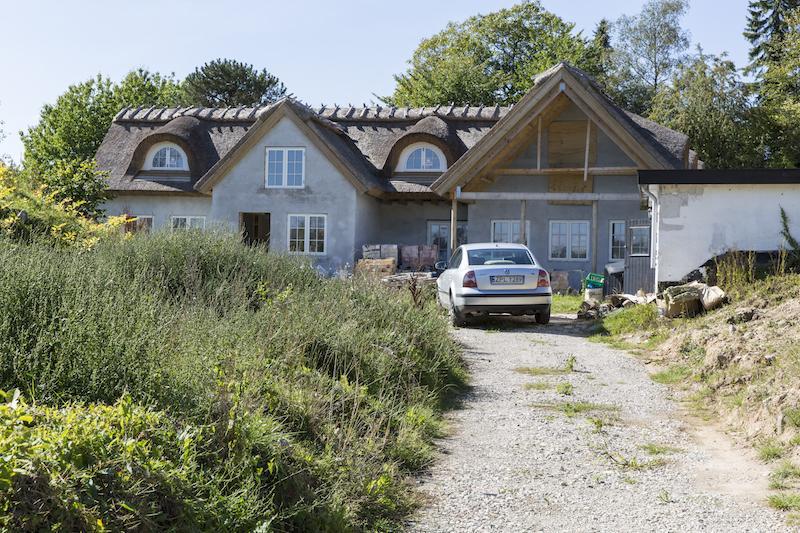 Byggetilladelsen har lavet Total renovering i Hørsholm